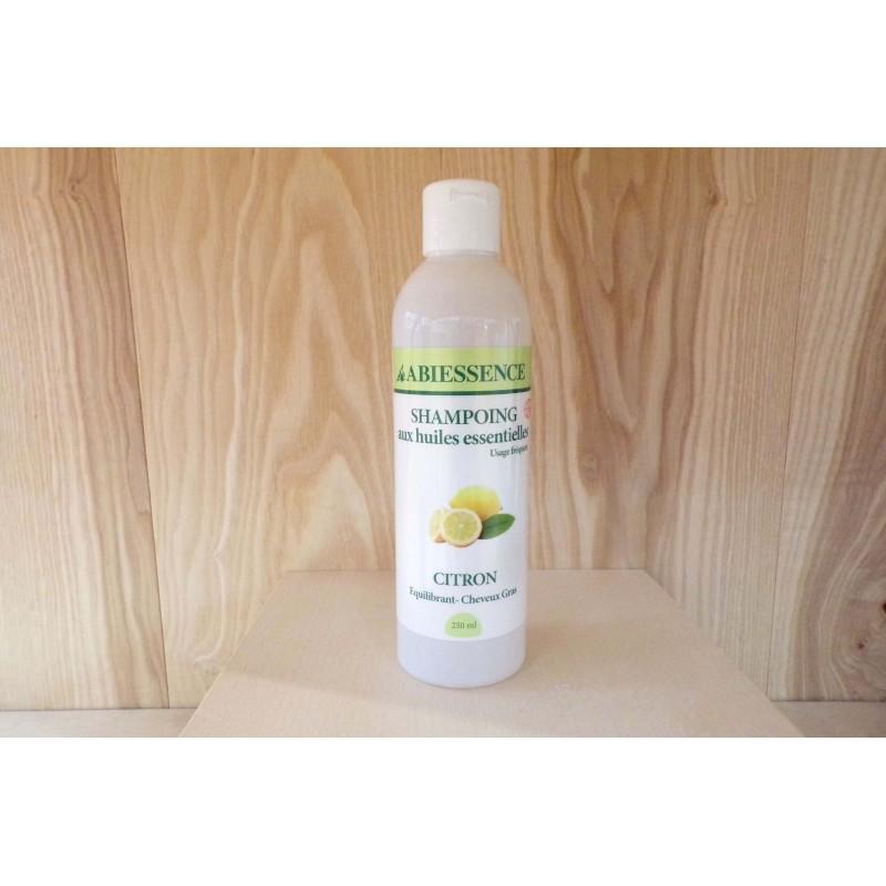 Shampoing à l'Huile Essentielle de Citron