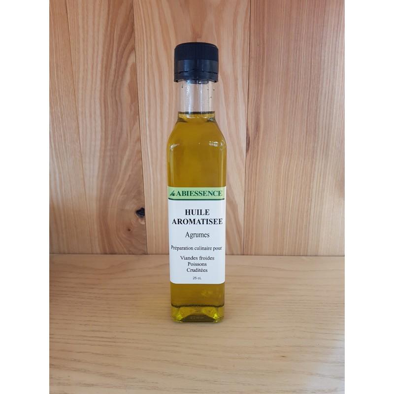 Huile aromatisée Agrumes