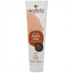 Tube d'argile rose 100gr